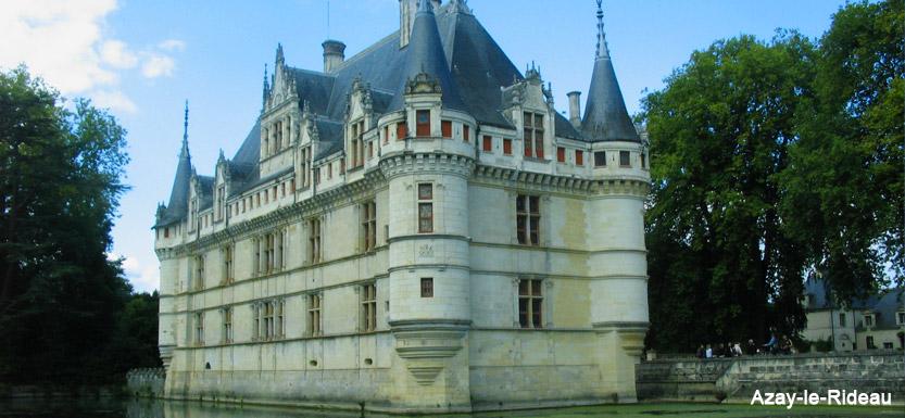 séjour à vélo sur la Loire à vélo, de Blois à Angers en passant par Azay-le-rideau
