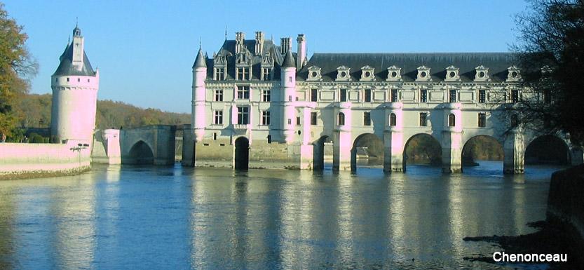 séjour à vélo autours des châteaux de la Loire, Chambord et Chenonceau